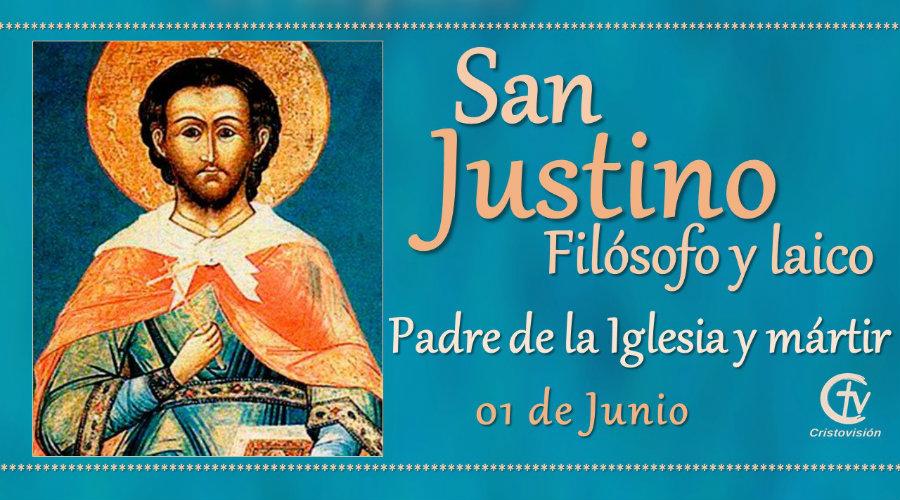 SANTO DEL DÍA || Fiesta de San Justino, Padre de la Iglesia y mártir
