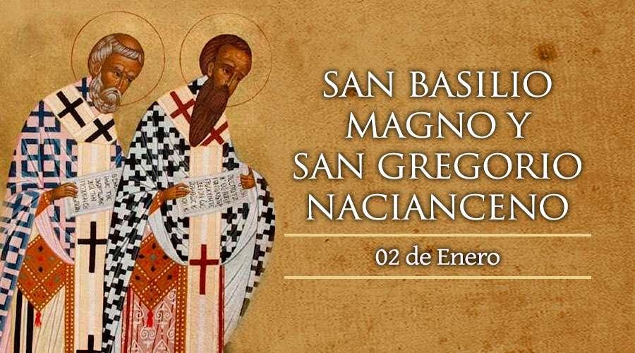 San Basilio Magno y San Gregorio Nacianceno
