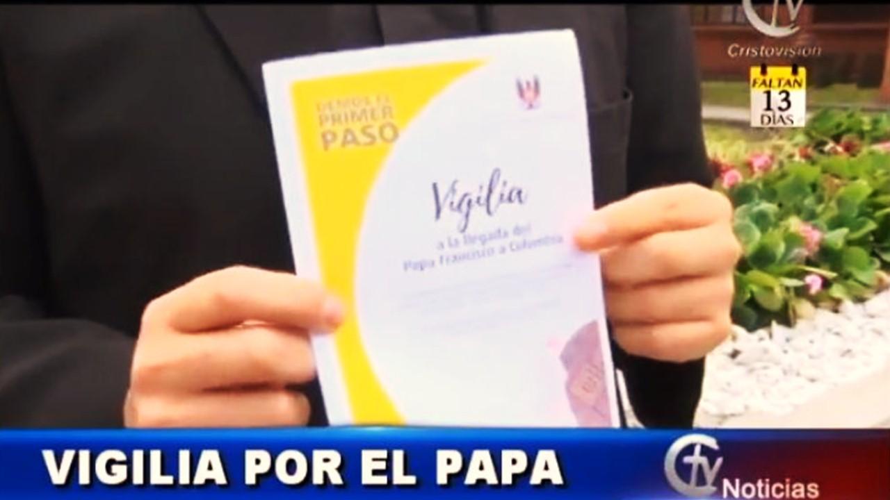 Participe en la Vigilia de Oración por la visita del Papa Francisco con Cristovisión
