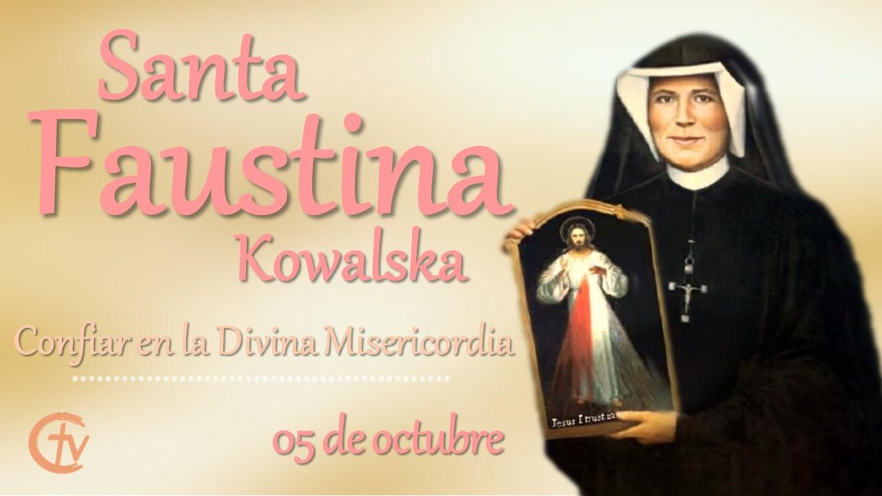 SANTO DE HOY|| Santa Faustina, servidora Señor de la Divina Misericordia