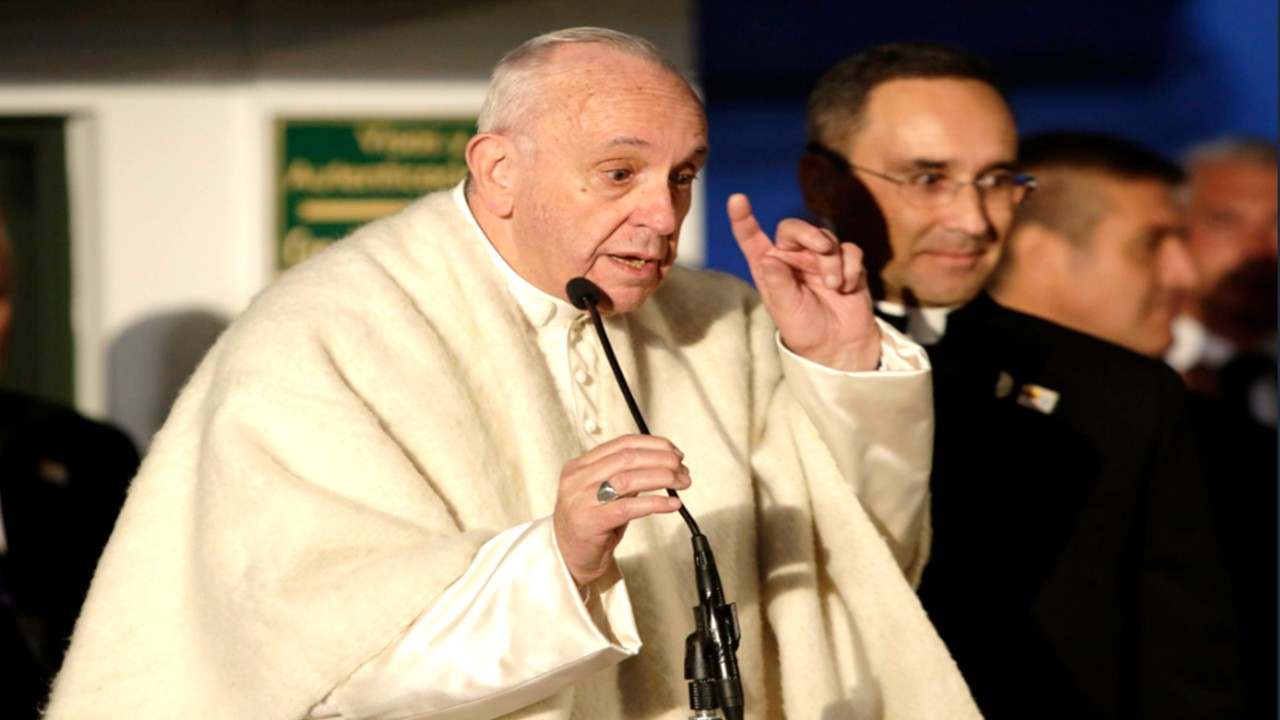 Agenda del Papa Francisco en Bogotá