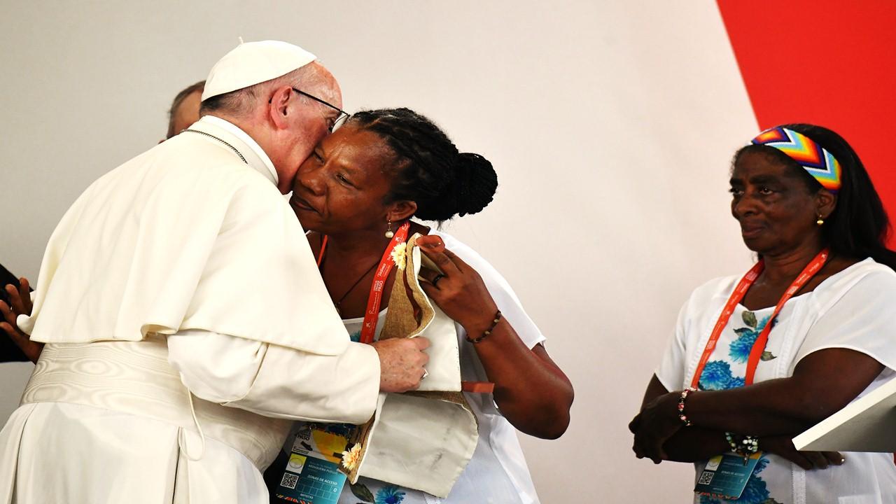 Discurso del Papa en el Encuentro por la Reconciliación Nacional