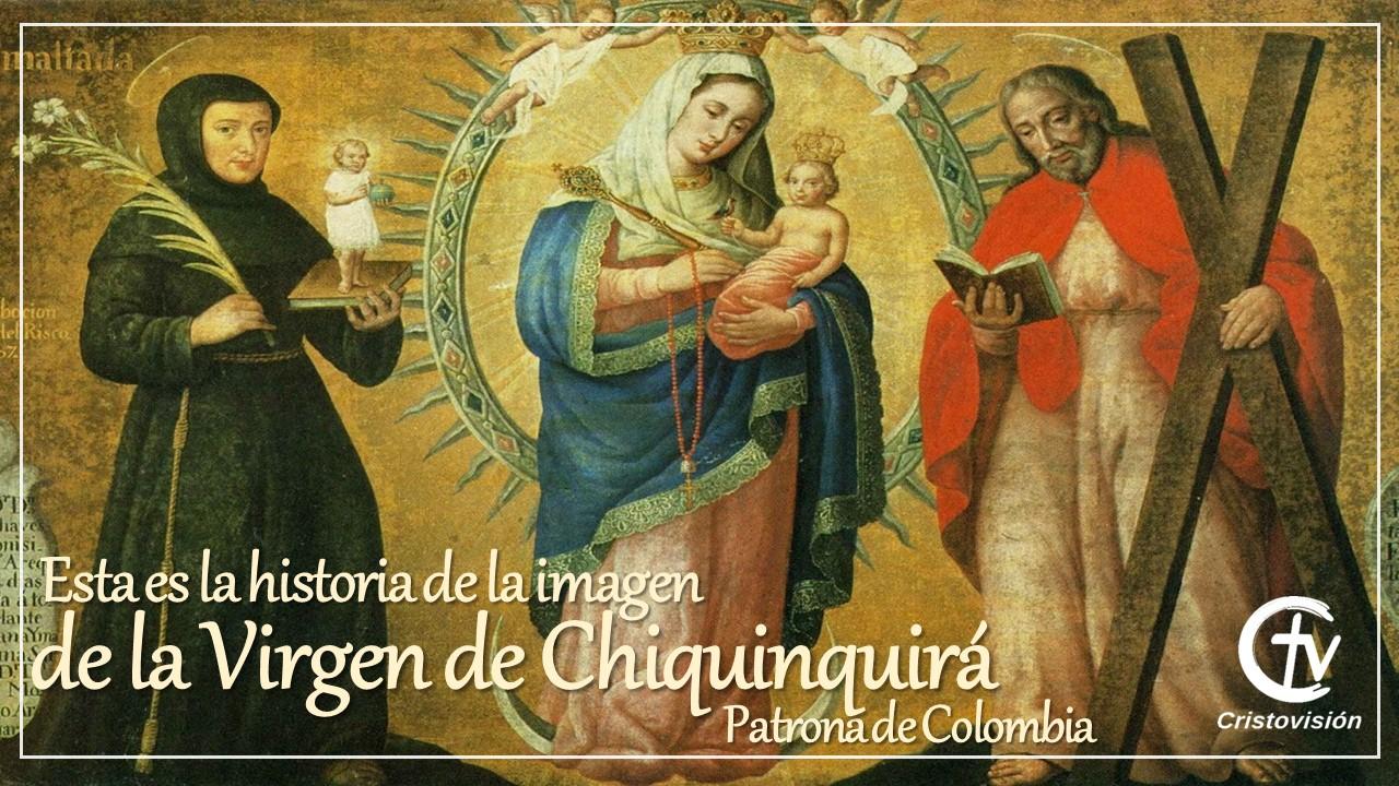 Esta es la historia de la imagen de la Virgen de Chiquinquirá, Patrona de Colombia