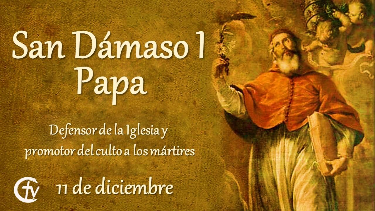 San Dámaso I, defensor de la Iglesia y promotor del culto a los mártires