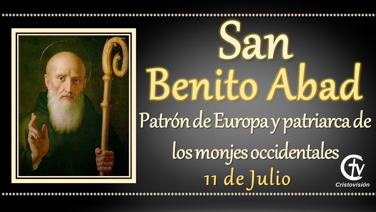 SANTO DEL DÍA || San Benito Abad