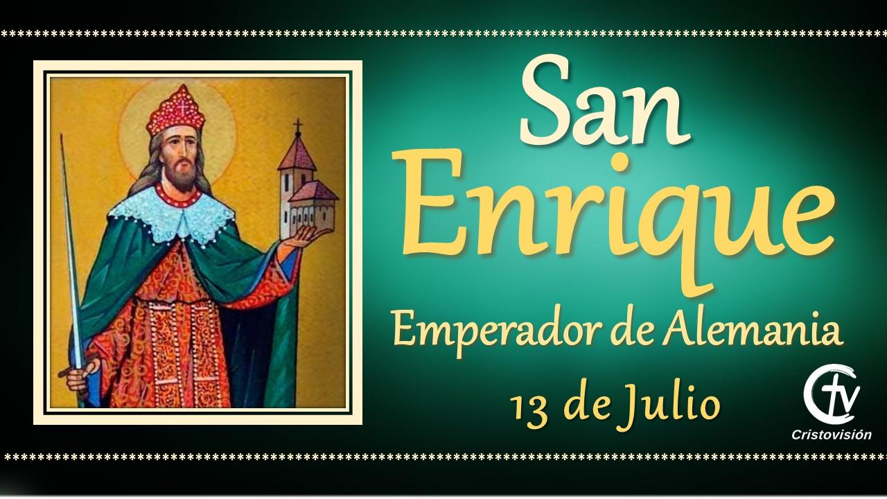 SANTO DEL DÍA || San Enrique