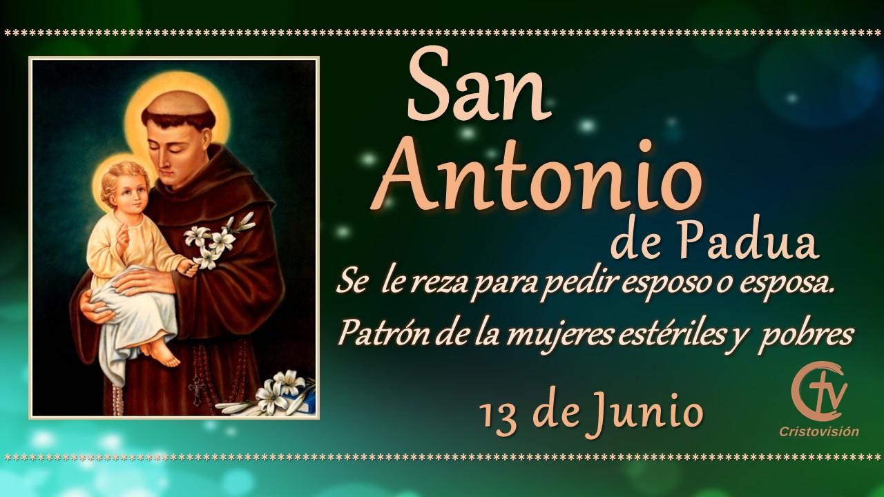 SANTO DEL DÍA || San Antonio de Padua