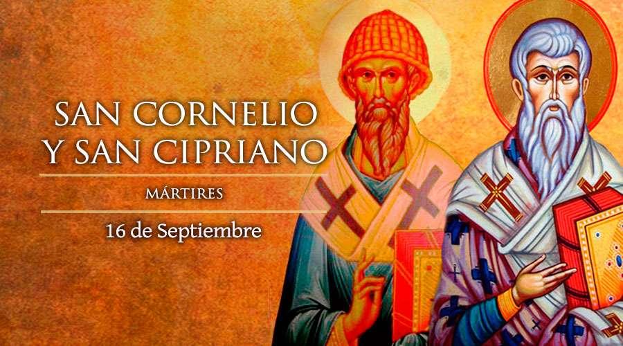 San Cornelio, Papa y San Cipriano, Obispo