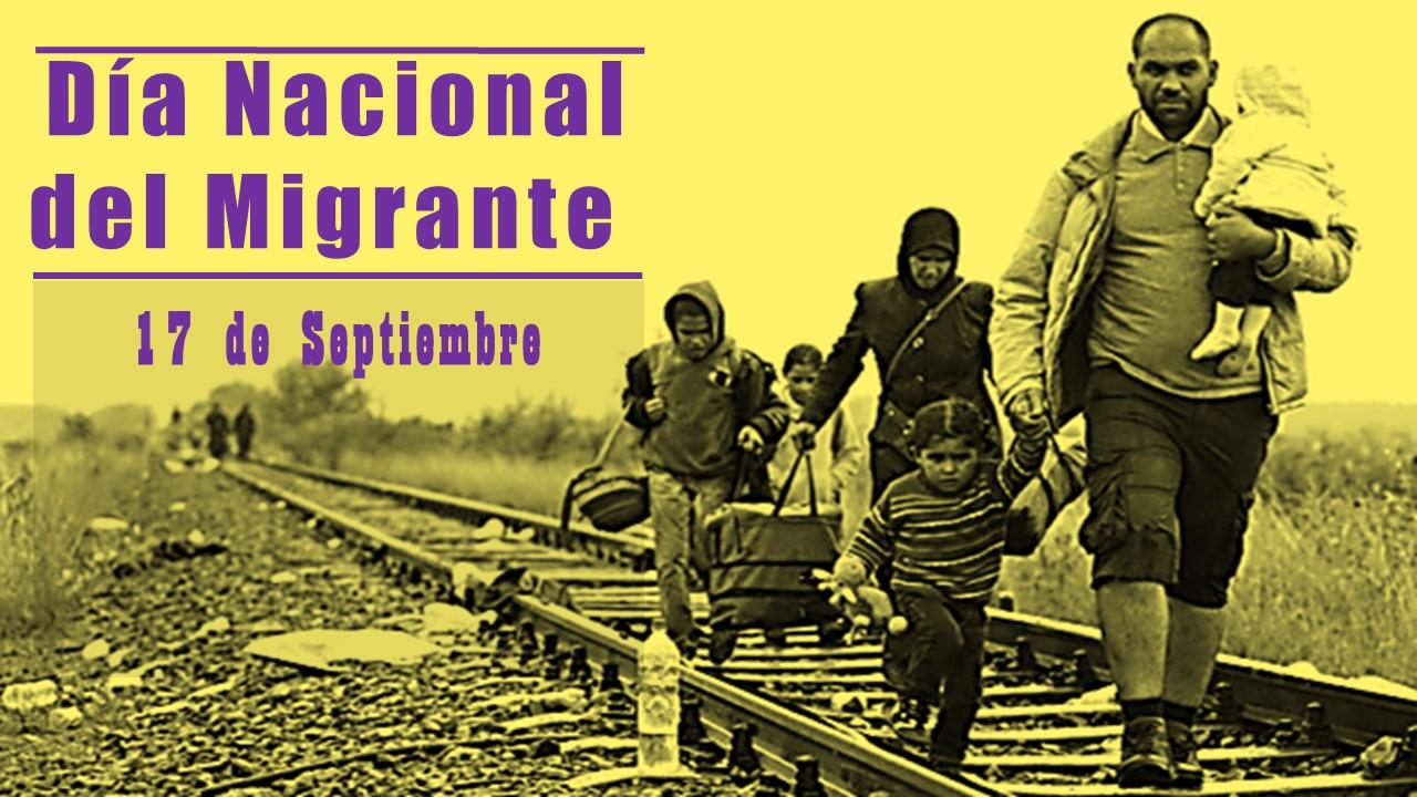 Hoy se celebra el día Nacional del Migrante