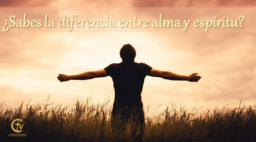 ¿Sabes la diferencia entre alma y espíritu?