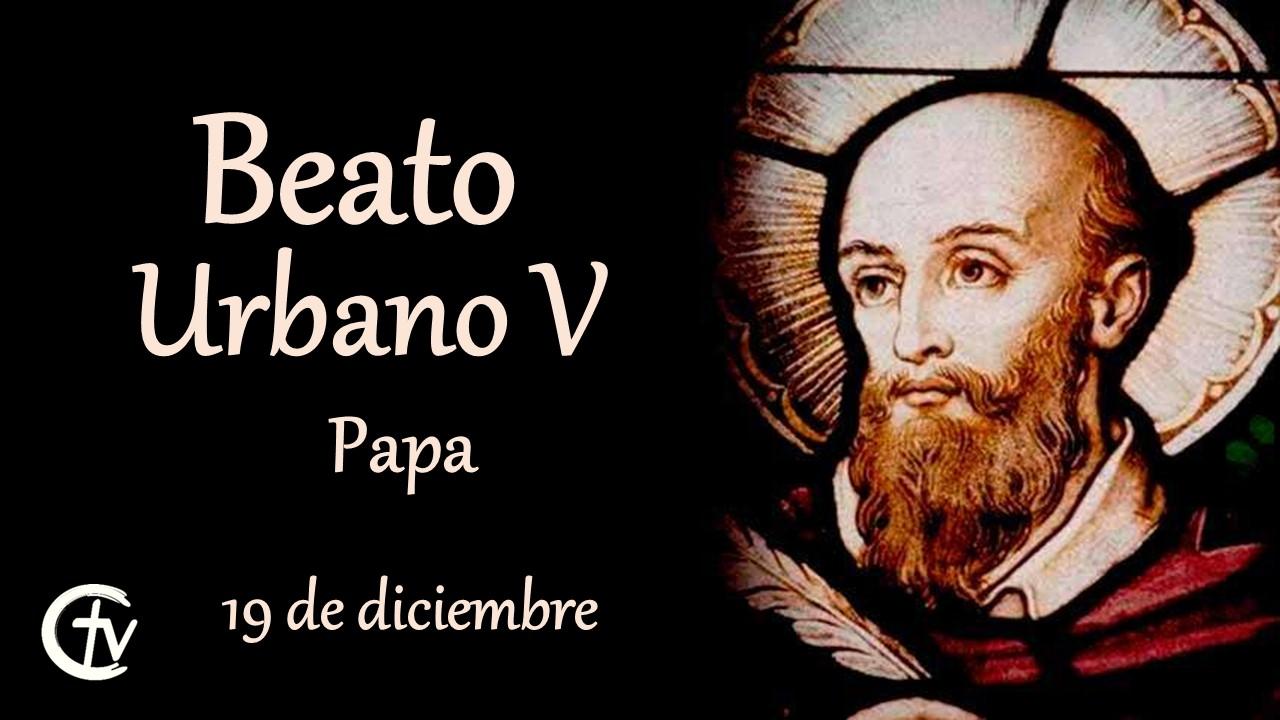 SANTO DEL DÍA || Beato Urbano V, Papa
