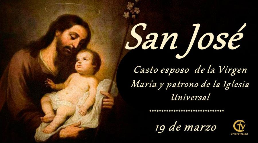 SANTO DEL DÍA    ¡Feliz Fiesta de San José, padre de la Sagrada Familia