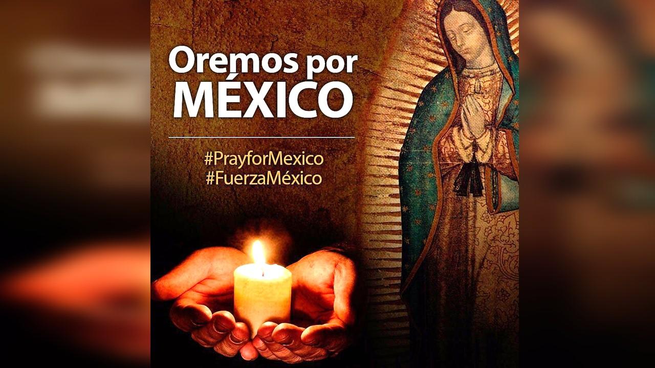 Cristovisión se une en oración por víctimas del terremoto en México