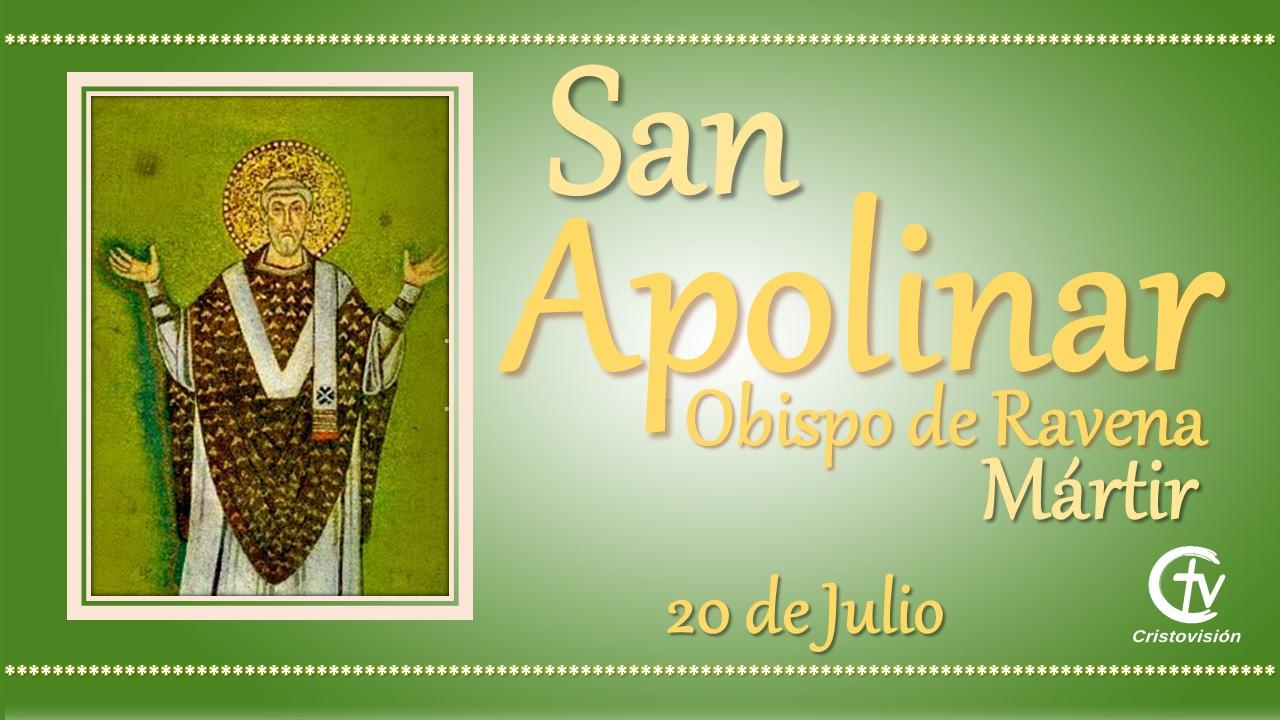 SANTO DEL DÍA || San Apolinar, Obispo de Ravena, Mártir