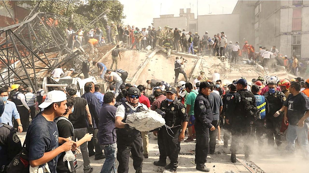 Solidaridad en México con las redes sociales