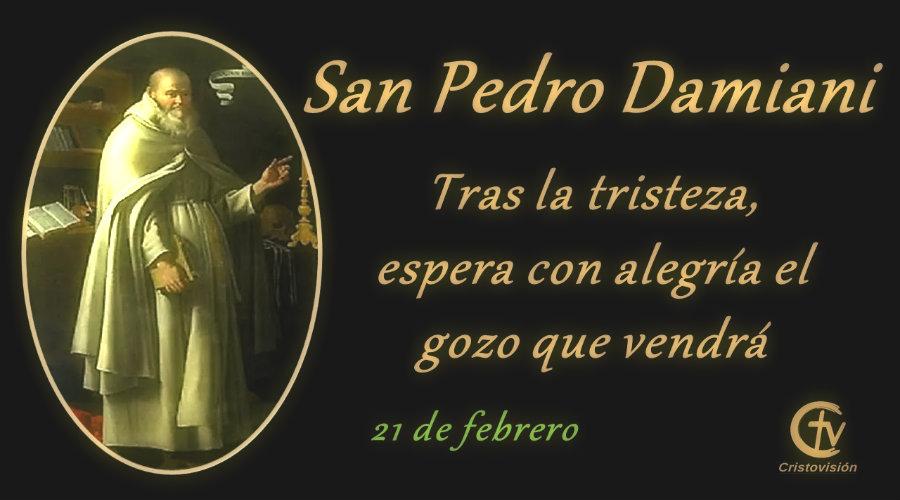 San Pedro Damiani, obispo y doctor de la Iglesia