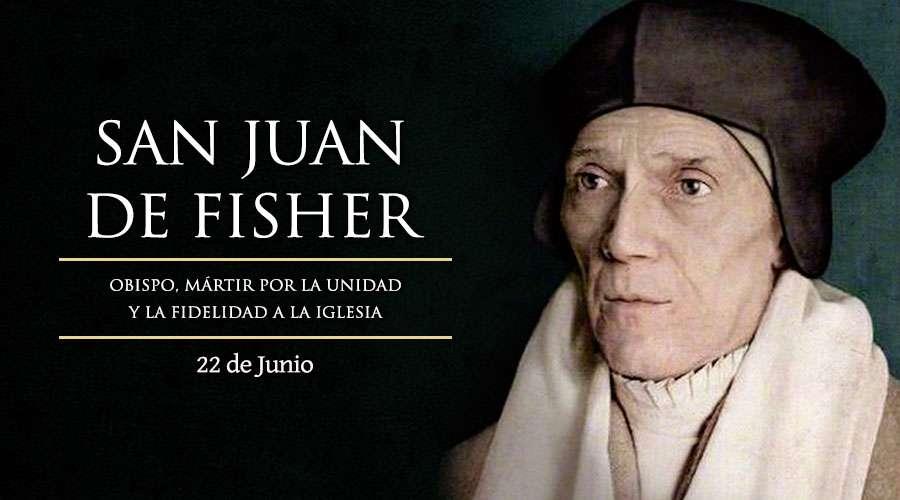 San juan Fisher, Obispo