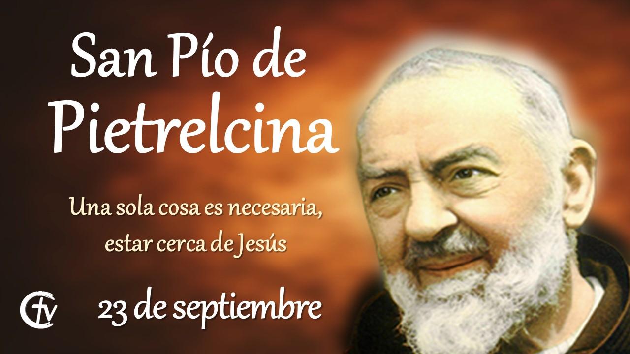 Hoy se conmemora a San Pío de Pietrelcina