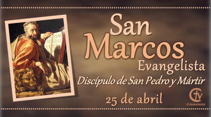 SANTO DEL DÍA || San Marcos, evangelista