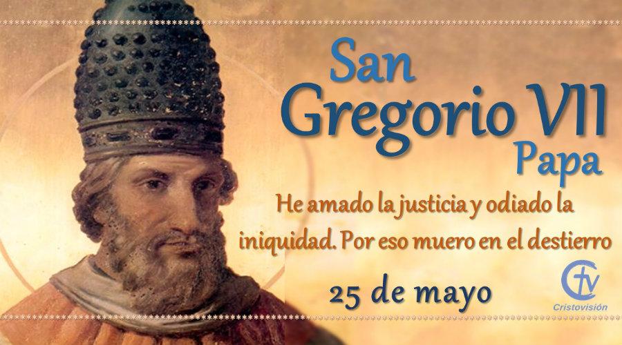 SANTO DEL DÍA || San Gregorio VII, Papa
