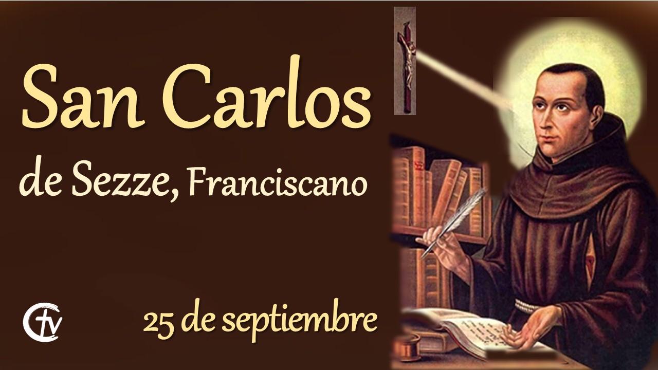 SANTO DEL DÍA || Hoy la Iglesia celebra a San Carlos de Sezze