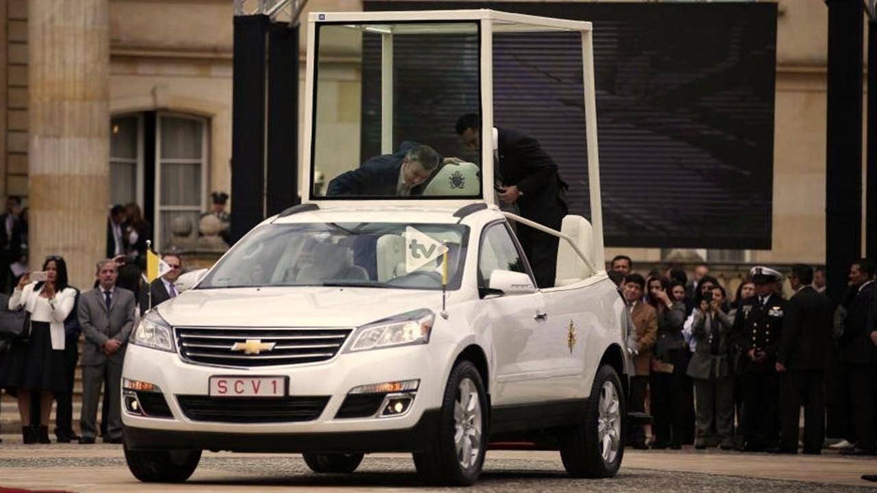 Asi fue la presentación oficial de la visita apostólica del Papa Francisco a Colombia