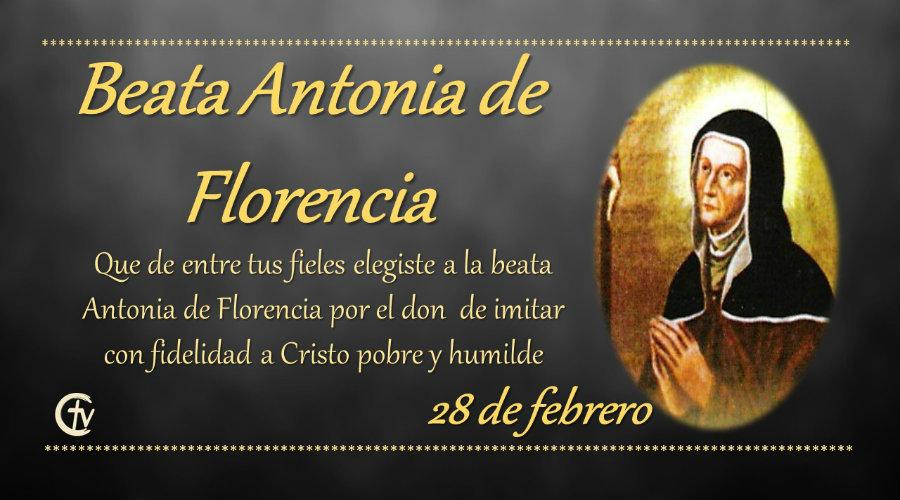 SANTO DEL DÍA || Beata Antonia de Florencia, Viuda