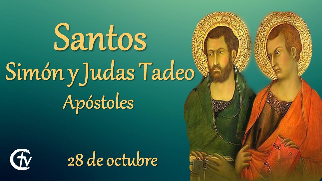 SANTO DEL DÍA || Santos Simón y Judas Tadeo, apóstoles