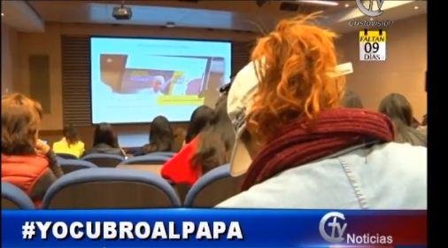 ff95445aa Jóvenes en Colombia cubrirán al Papa Francisco a través de sus redes  sociales