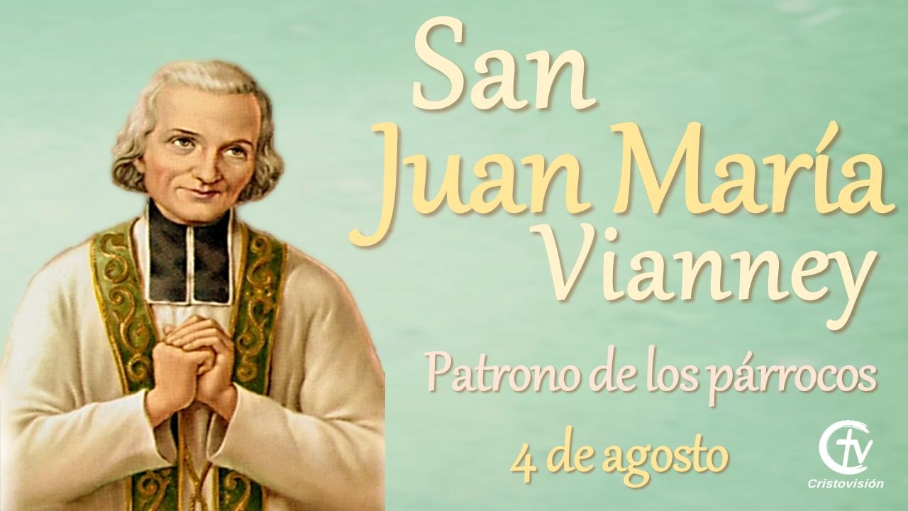 SANTO DEL DÍA || Hoy celebramos a San Juan María Vianney, patrono de los párrocos
