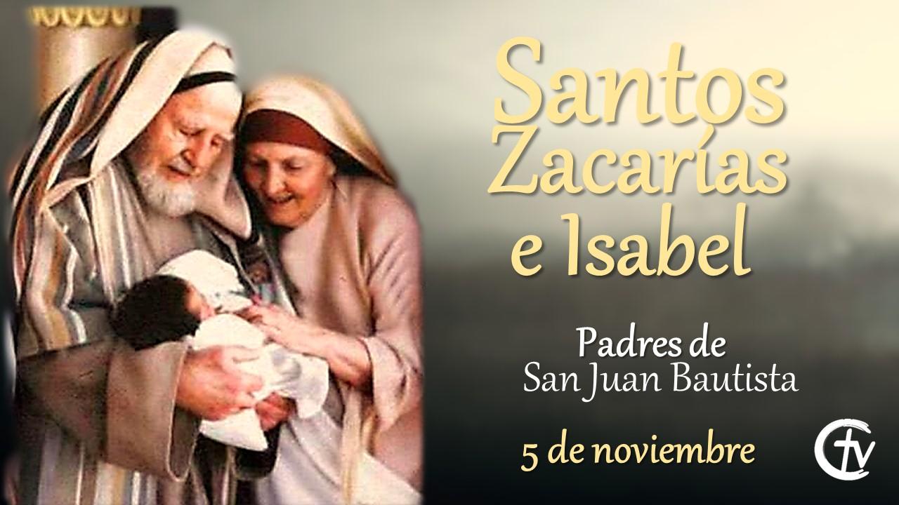 Resultado de imagen de Zacarías y Juan bautista