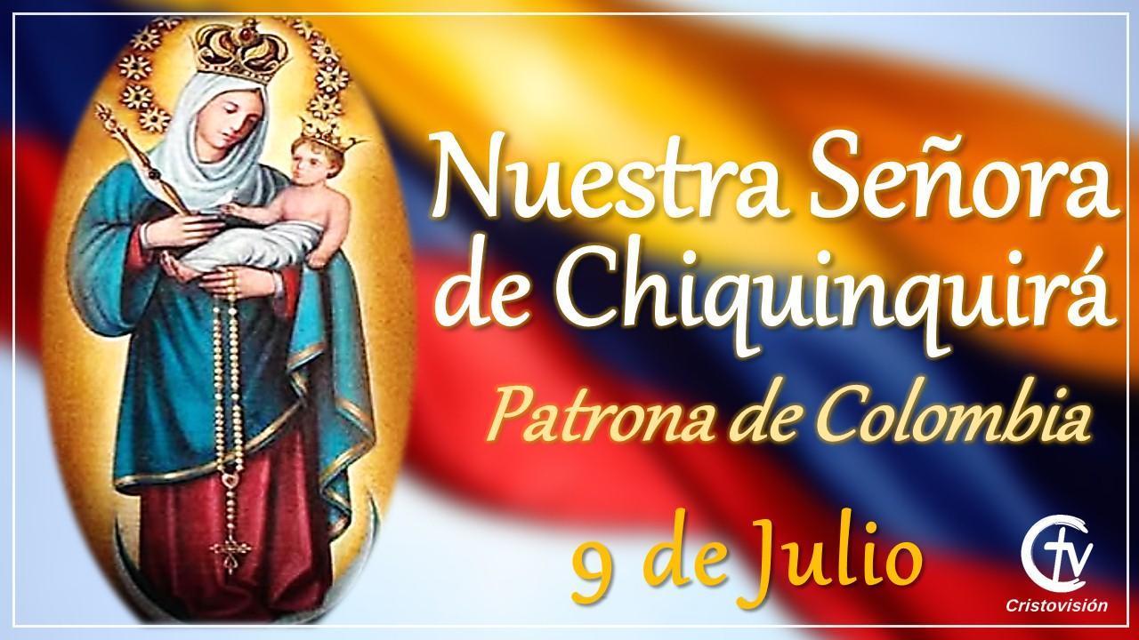 Hoy celebramos a Nuestra Señora de Chiquinquirá, patrona de Colombia