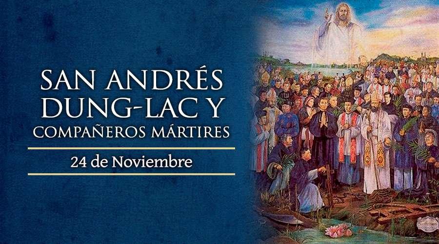 San Andrés Dung-Lac, presbítero y Compañeros Mártires