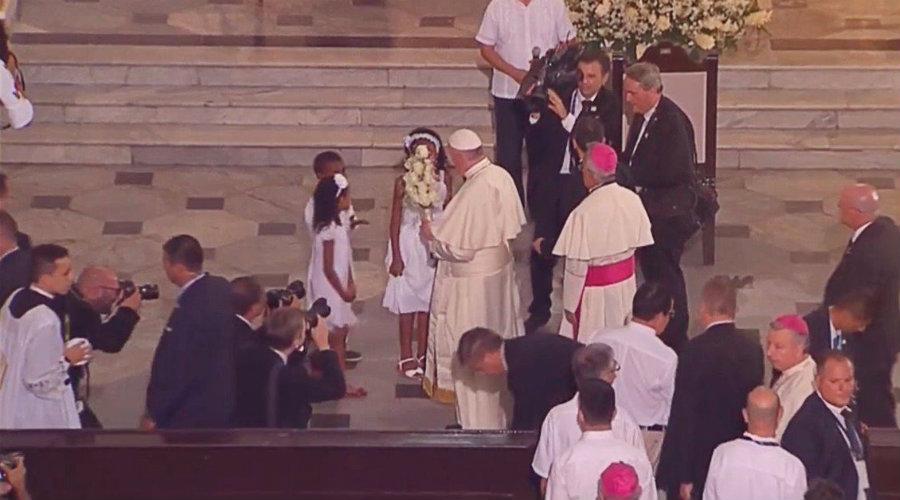 Ángelus del Papa Francisco  en Cartagena