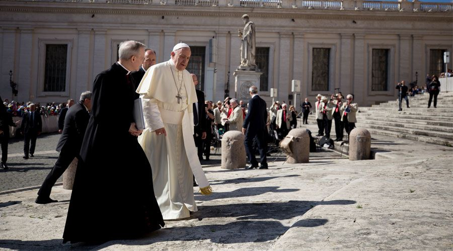 audiencia papa francisco responsabilidad bautizado