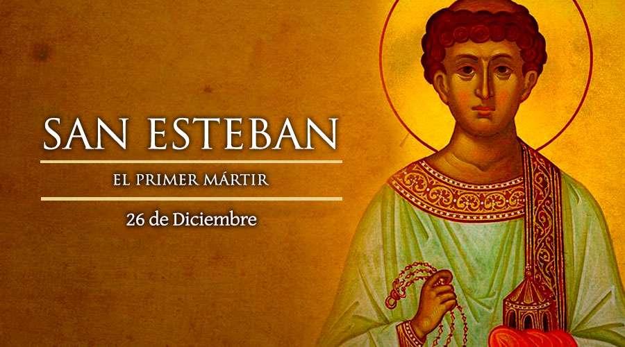 SANTO DEL DÍA    San Esteban, Protomártir