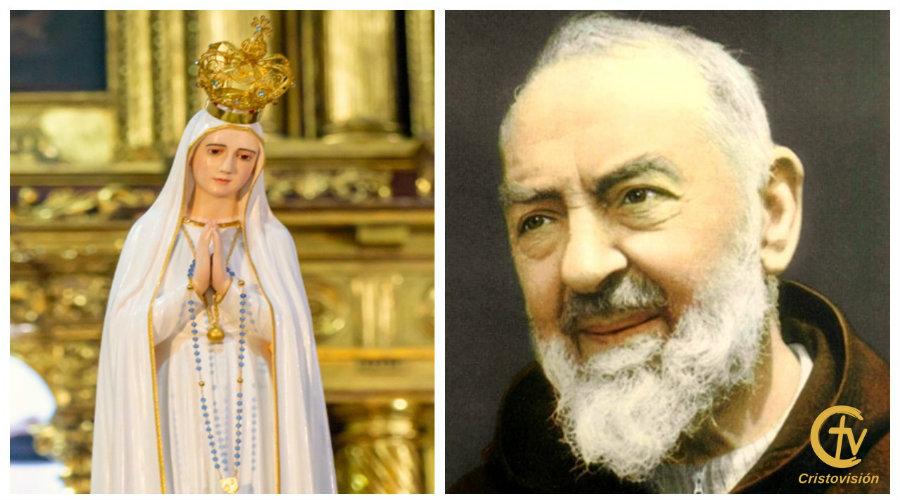 ¿Sabías que la Virgen de Fátima sanó en una ocasión al Padre Pío?