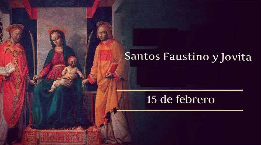 SANTOS FAUSTINO Y JOVITA
