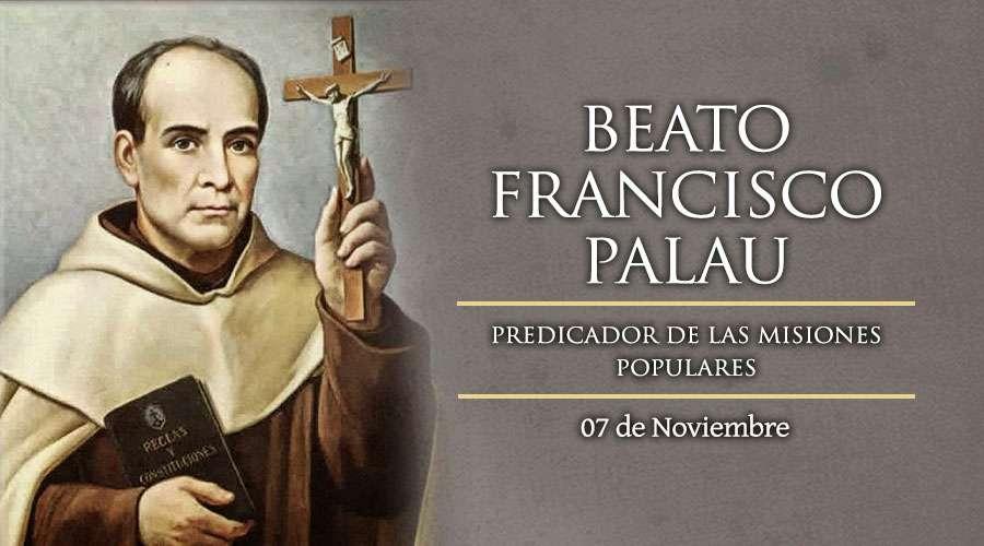 Beato Francisco Palau predicador de las misiones populares