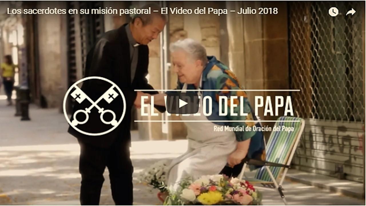 VIDEO #7 DEL PAPA || El Papa pide rezar por los sacerdotes