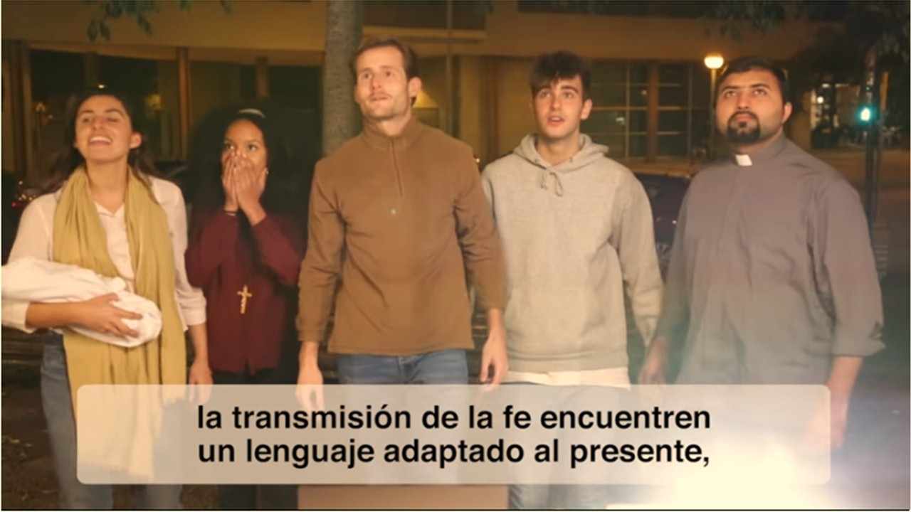 VIDEO#12 intenciones de oración 2018: Por quienes transmiten la fe