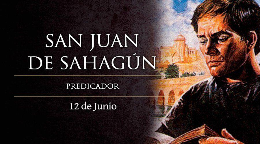 Fiesta de San Juan de Sahagún, predicador agustino