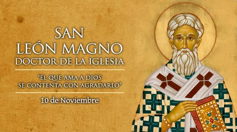 SANTO DEL DÍA || San León Magno, doctor de la Iglesia