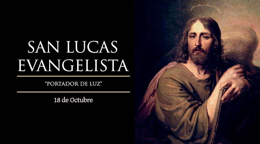 SANTO DEL DÍA    San Lucas Evangelista, patrono de los médicos