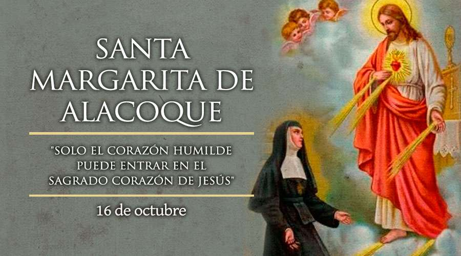 Santa Margarita María nació el 25 de julio de 1647, en Janots, Borgoña. Fue la quinta de 7 hijos de un notario acomodado. A los cuatro años Margarita