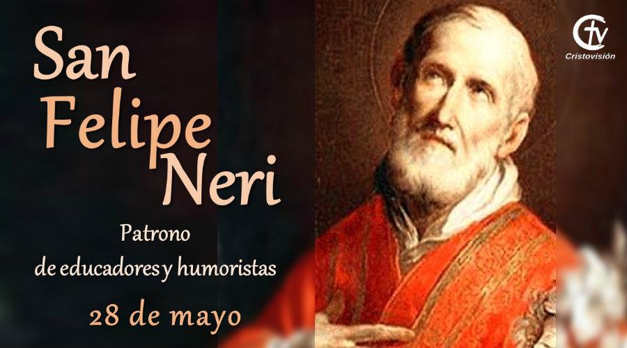 SANTO DEL DÍA || San Felipe Neri, patrono de educadores y humoristas