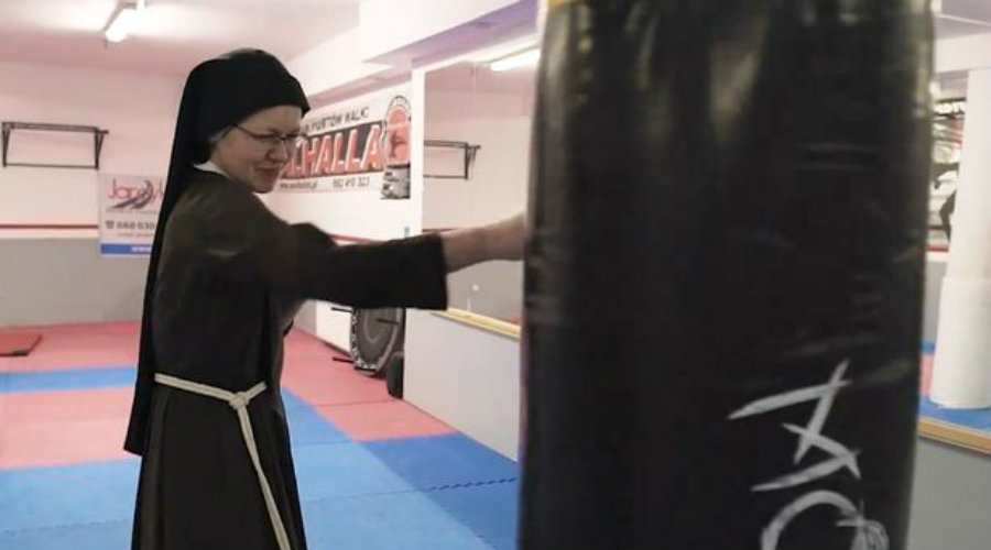 monjas boxeadoras