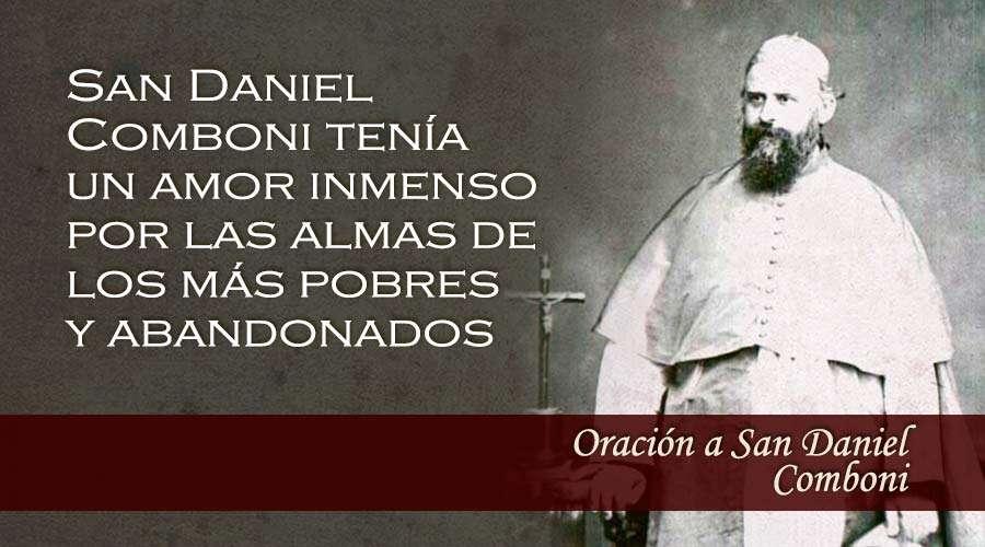 Oración a San Daniel Comboni