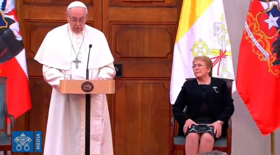 papa francisco discurso presidenta chile
