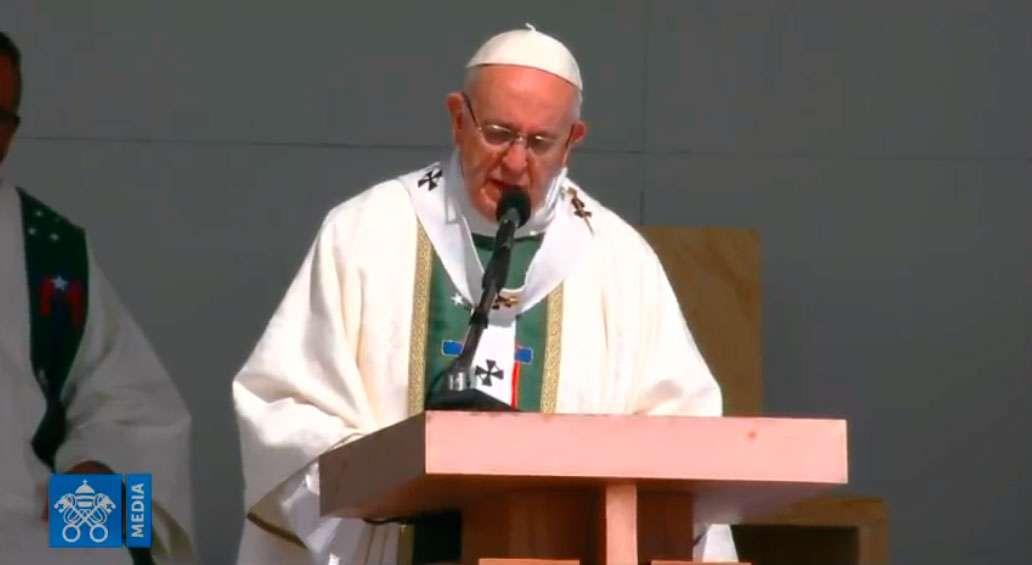 papa francisco misa santiago chile